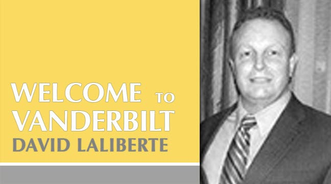 Vanderbilt Welcomes David Laliberte
