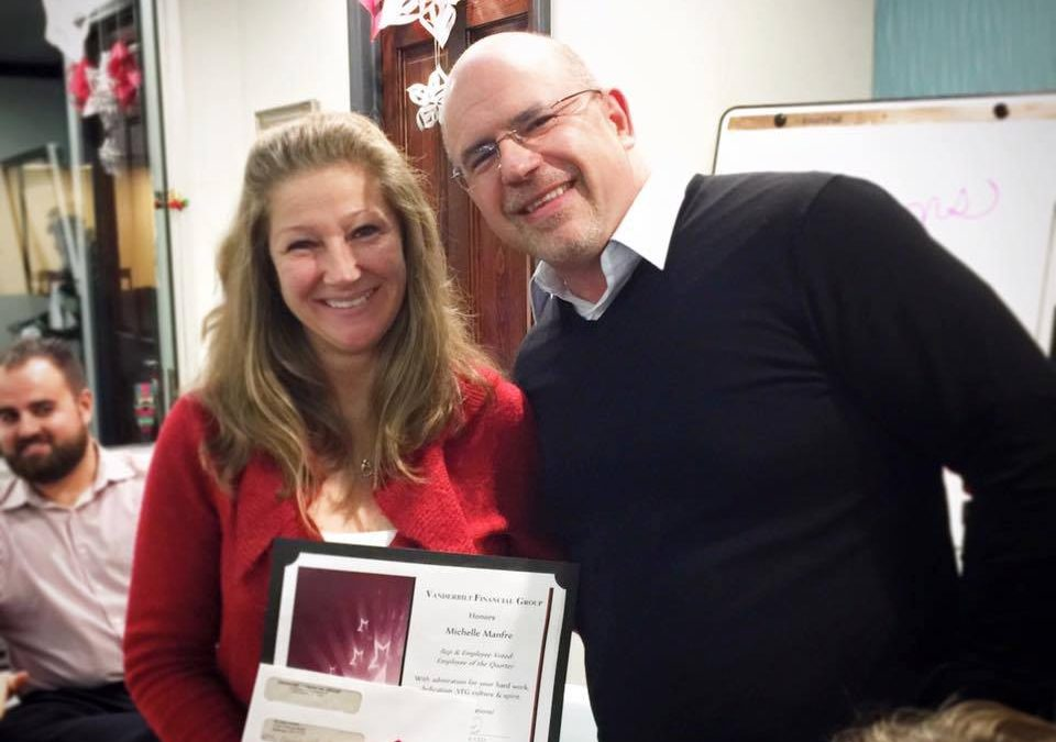 Michelle Manfre Named Employee of the Quarter