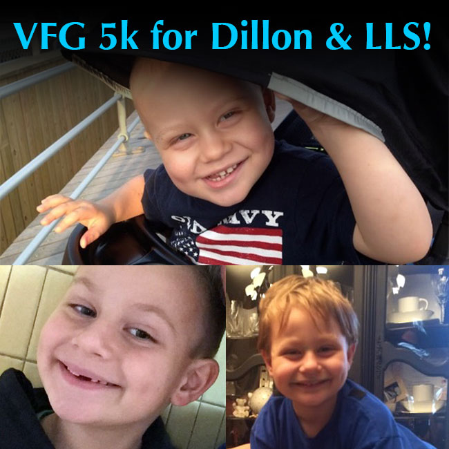 VFG 5k for Dillon & LLS!