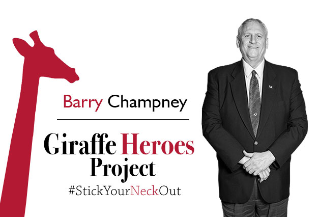 Vanderbilt CCO, Barry Champney, Named Giraffe Hero
